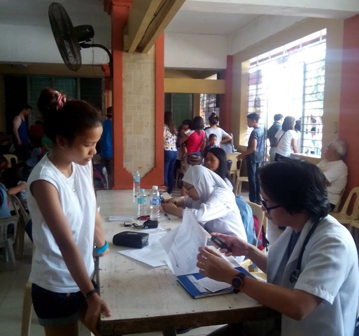 Adventist Health Professionals of North Central Mindanao Conference Free Clinic